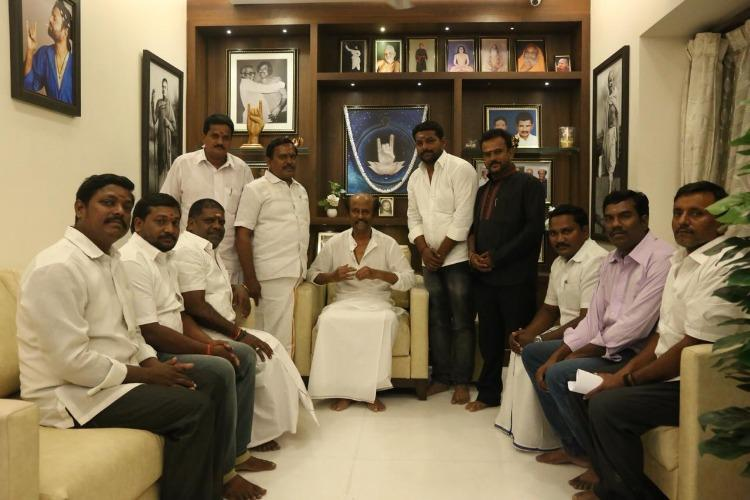 Days after strong words from their leader Rajini Makkal Mandram members tender apology