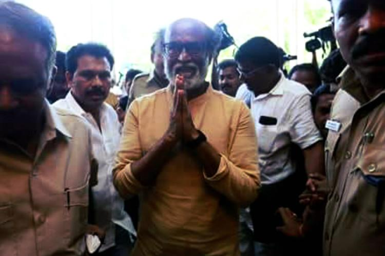 Rajinikanth gets exemption from appearing before Thoothukudi firing probe committee
