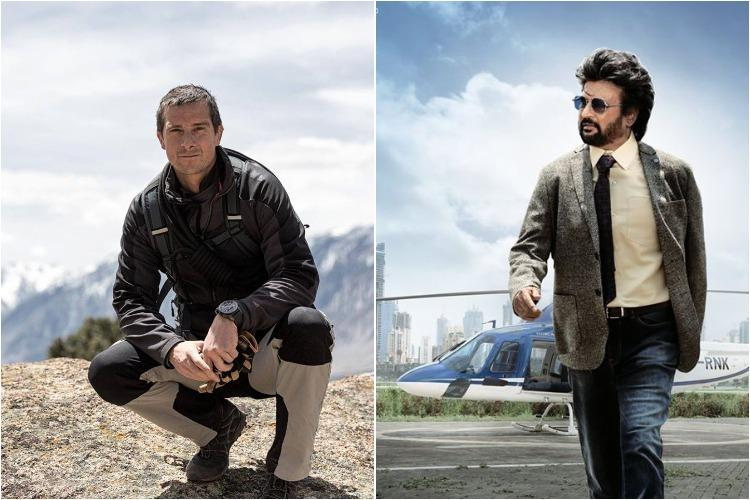 Rajinikanth shoots for Man Vs Wild show with Bear Grylls in Bandipur forest