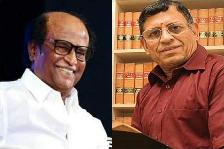 BJP should ally with Rajinikanth says S Gurumurthy at Tughlaq meet