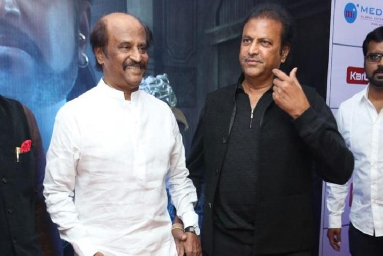 Rajini roots for Mohan Babu to play lead role in Telugu remake of Power Paandi