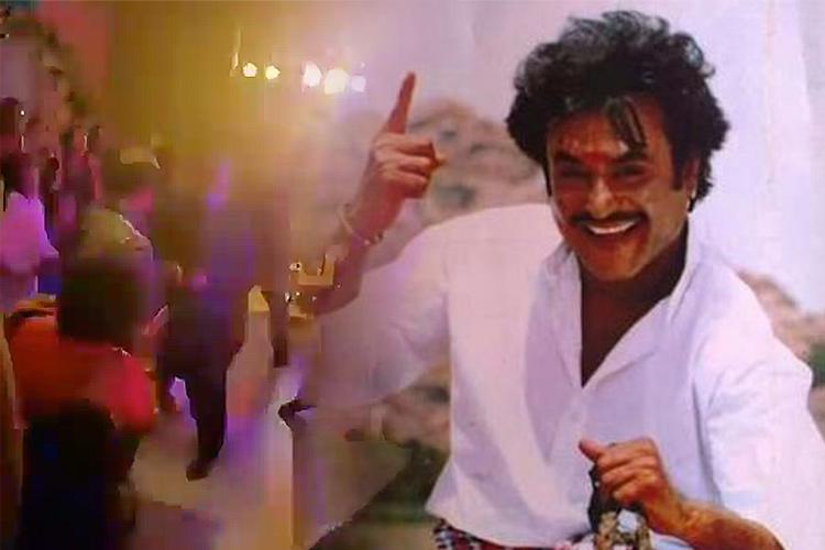 Watch: Rajinikanth dances to 'Oruvan Oruvan Mudalali' at Soundarya's