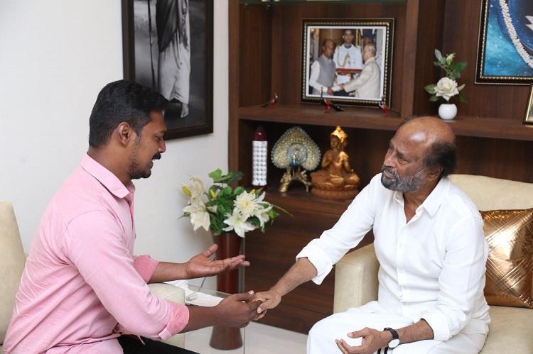 Rajinikanth invites home Vijay man whose wife murdered their kids