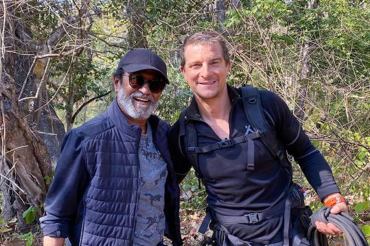Rajinikanths Into the Wild show with Bear Grylls to focus on water conservation