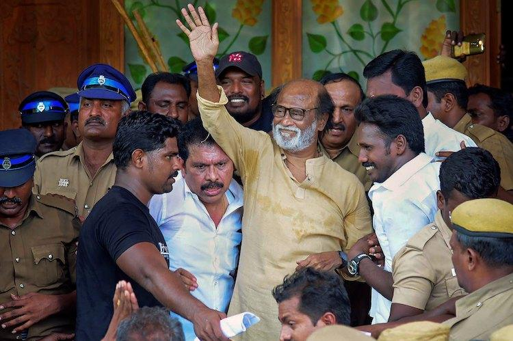 I will not apologise for remarks on Periyar incident Rajinikanth