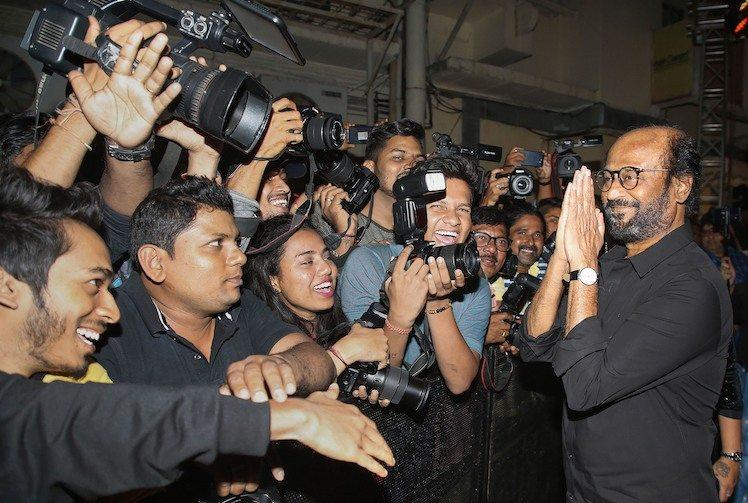 Rajinikanth dodges question on Jamia police violence as he promotes bad cop movie Darbar