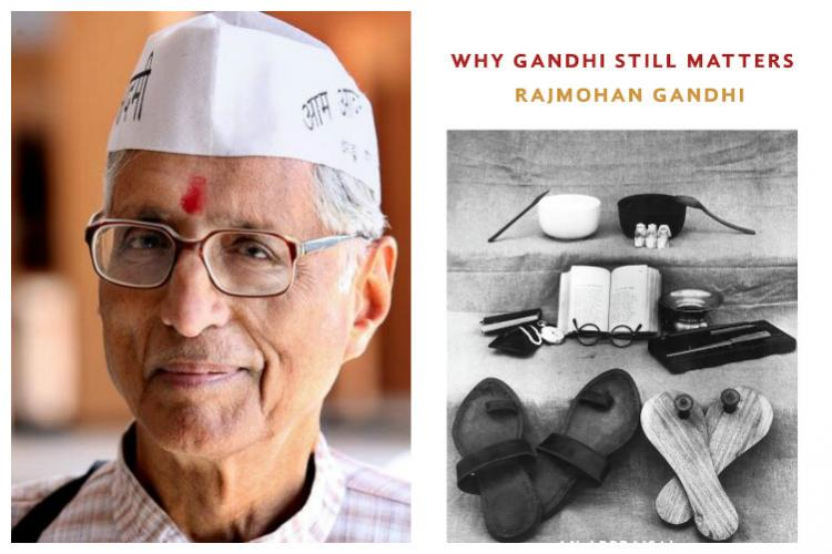 Gandhi could have been a better husband father Rajmohan Gandhi on new book