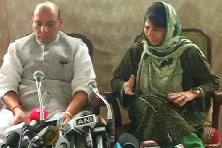Children who pick up stones must be counselled and other takeaways from Rajnath-Mehbooba press meet