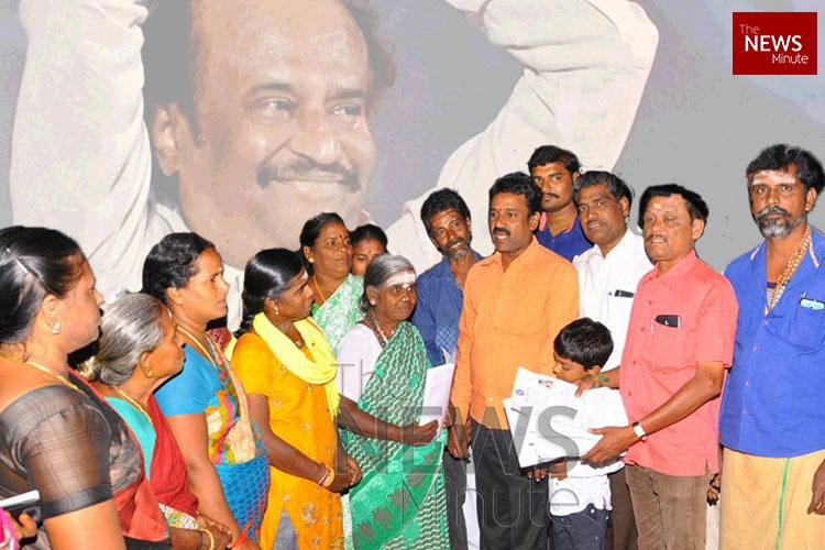 The Rajini Veriyans Meet the womens wing of Superstars political outfit