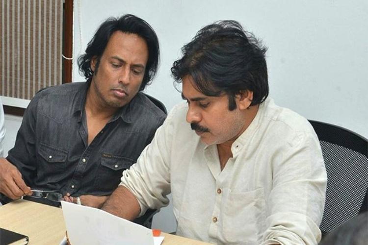 Pawan Kalyans friend and Jana Sena politburo member Raju Ravitej quits party