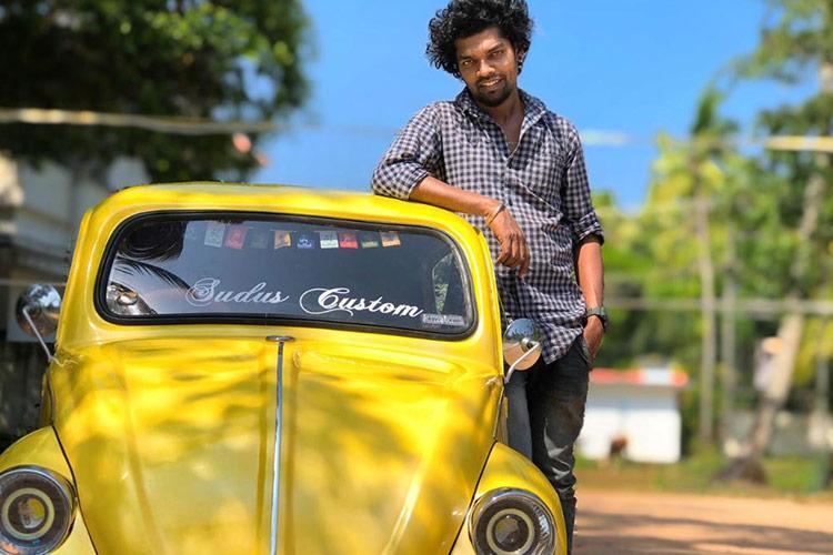 Kerala man assembles car in the model ofVolkswagen Beetlefrom scrap