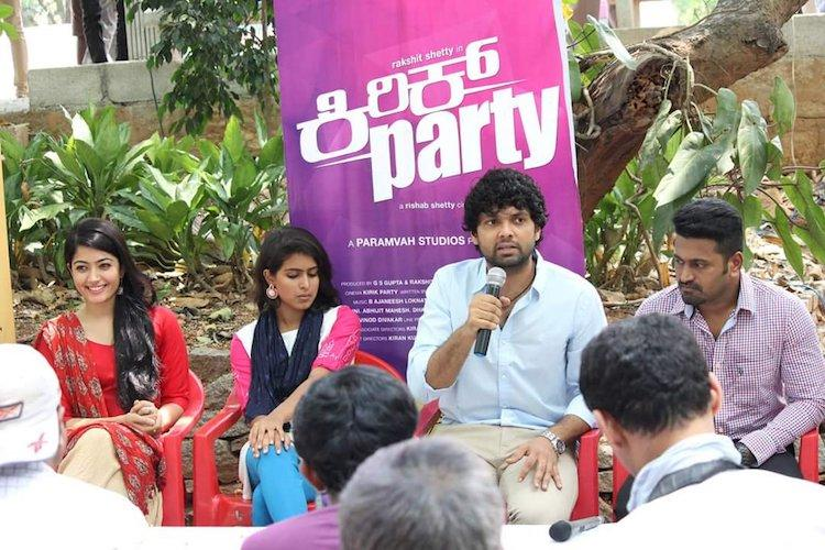 Rakshit Shetty to star in Kirik Party sequel Kirik Party 2