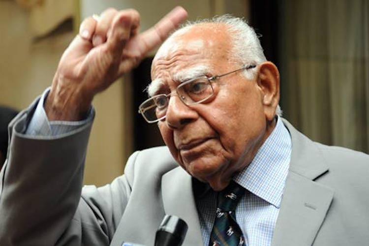 Veteran criminal lawyer and former law minister Ram