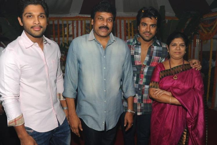 Ram Charan says dad Chiranjeevi wanted Allu Arjuns opinion before letting him act