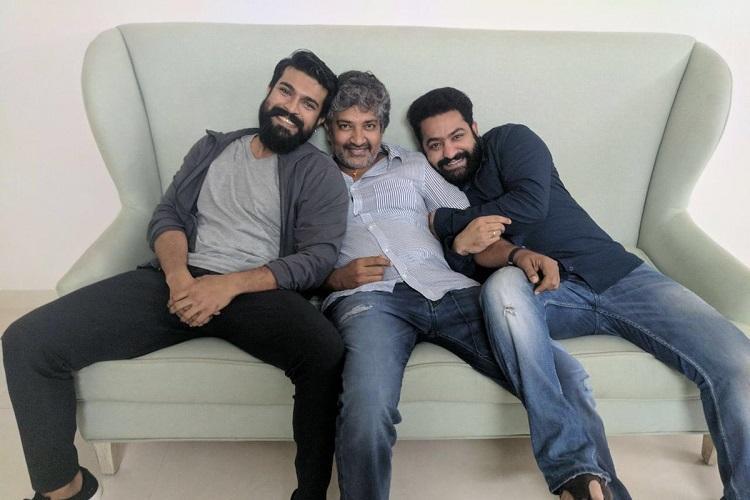 SS Rajamouli to make a movie with Jr NTR and Ram Charan Big photo hint