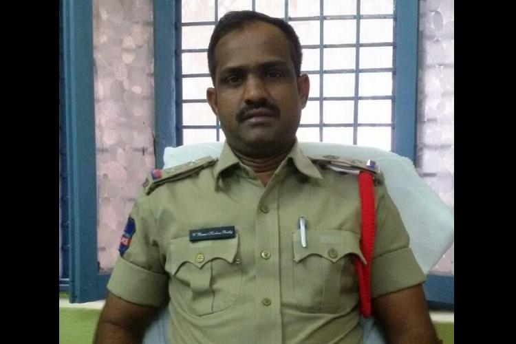 Telangana SI suicide case Investigating officer removed DGP and DIG to monitor probe