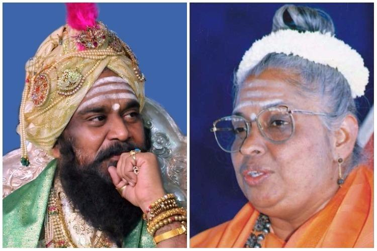 Sect war turns to sexism battle Karnataka religious leader sued for comments on woman seer