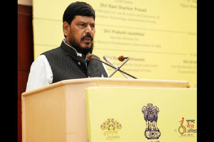 We totally oppose complete ban on beef says Minister Ramdas Athawale