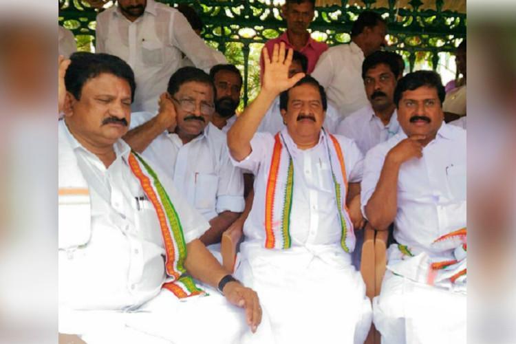 SSLC exam fiasco Chennithala sits on hunger strike threatens to intensify protest