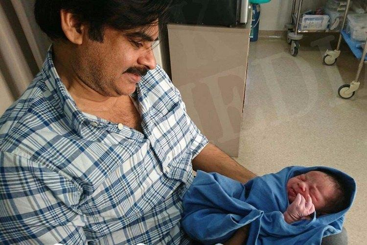 Pawan Kalyan and wife Anna blessed with baby boy