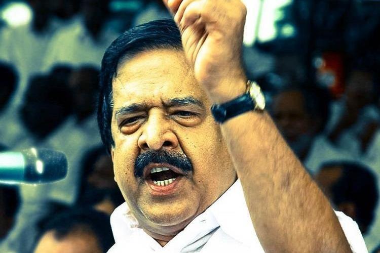 Mafia controls Kerala police Chennithala targets CM Pinarayi over CAG report