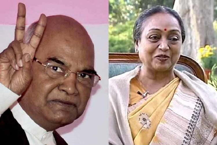Presidential poll Kovind ahead of Meira by over 2 lakh vote value