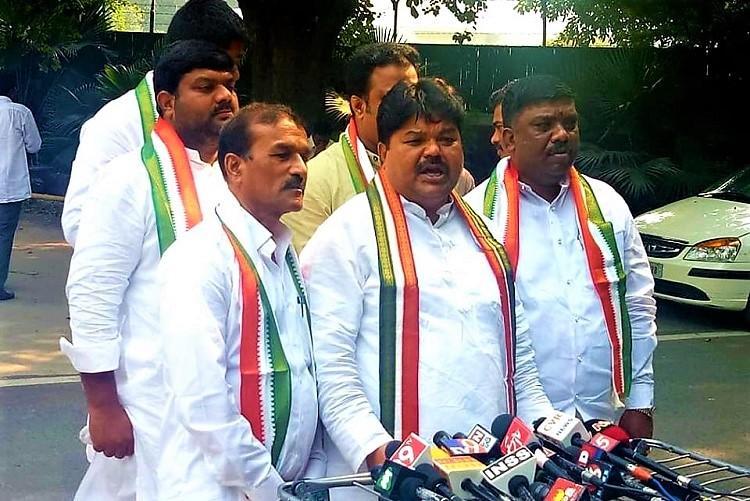 Telangana polls In blow to TRS 2 senior leaders meet Rahul Gandhi join Congress