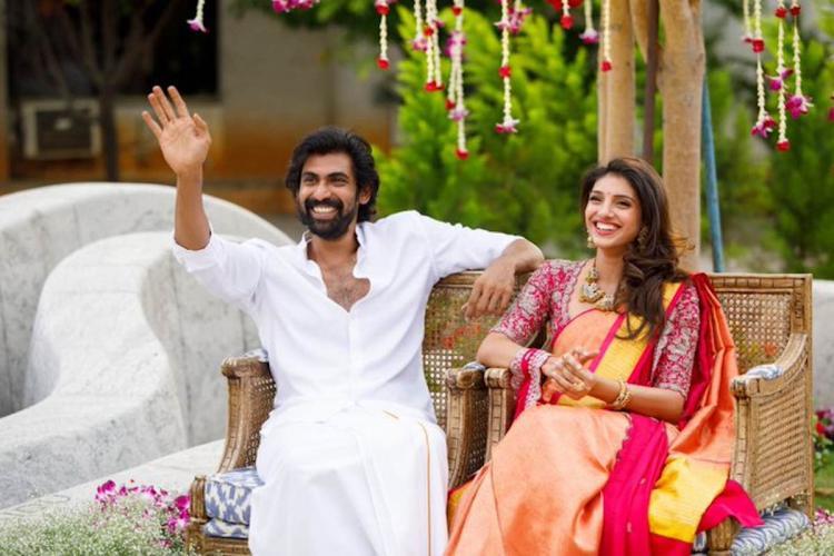 Engagement ceremony of Telugu actor Rana Daggubati with Miheeka Bajaj