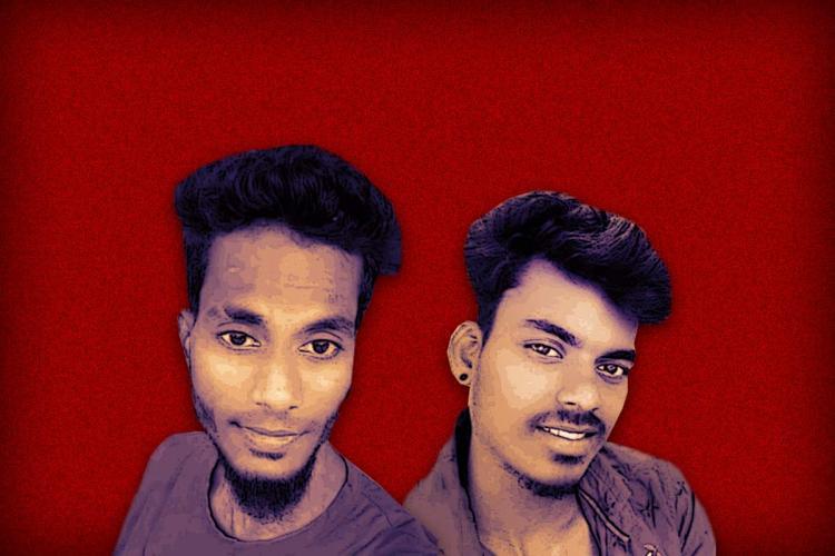 The murdered Dalit men Arjunan and Suriya