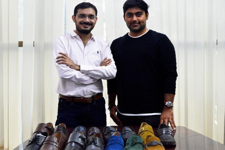 Rapawalk founders Kashif Mohammad and Aravind Maddireddy