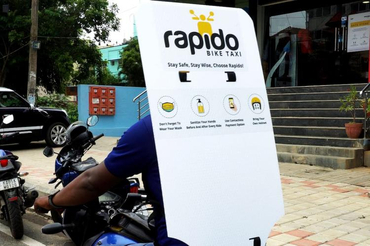Rapido Back Shields prevents contact between Captains and customers