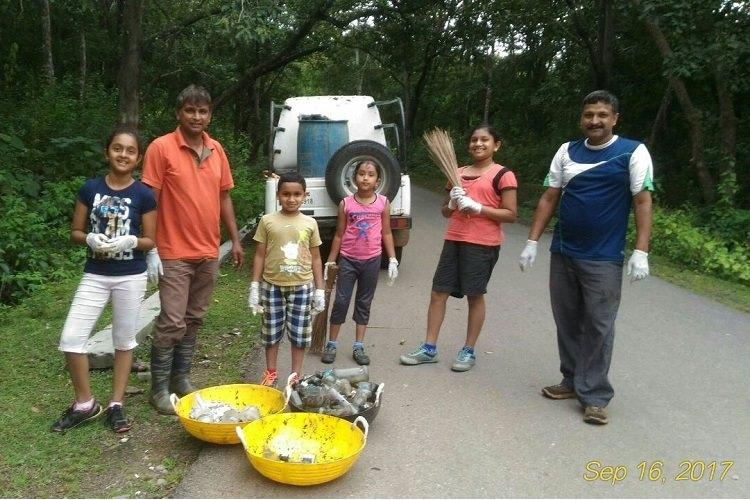 Less blaming more doing How a family cleaned up a forest reserve area in Karnataka