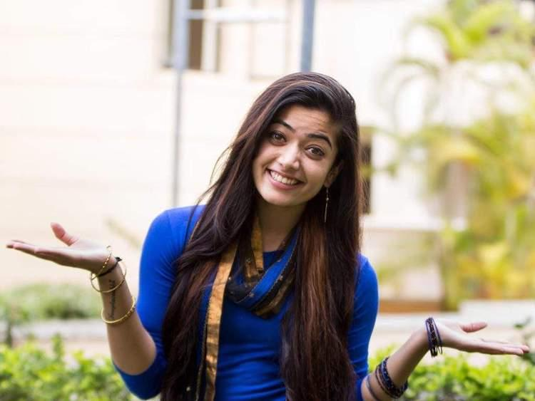 Rashmika Mandanna and Jr NTR to pair up for Trivikrams next film