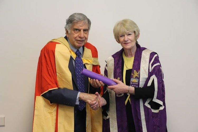 Ratan Tata awarded honorary doctorate by University of Manchester