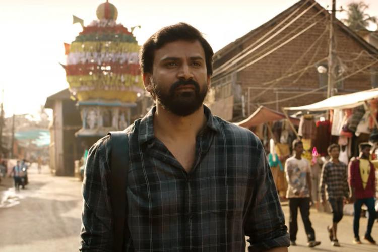 Actor Dhananjaya in the trailer of Rathnan Prapancha