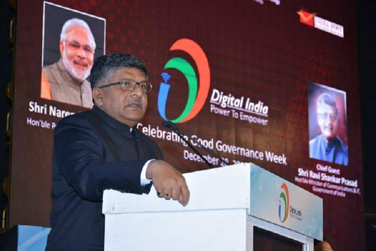 State legislatures have no powers to pass laws on CAA Law Minister Ravi Shankar Prasad