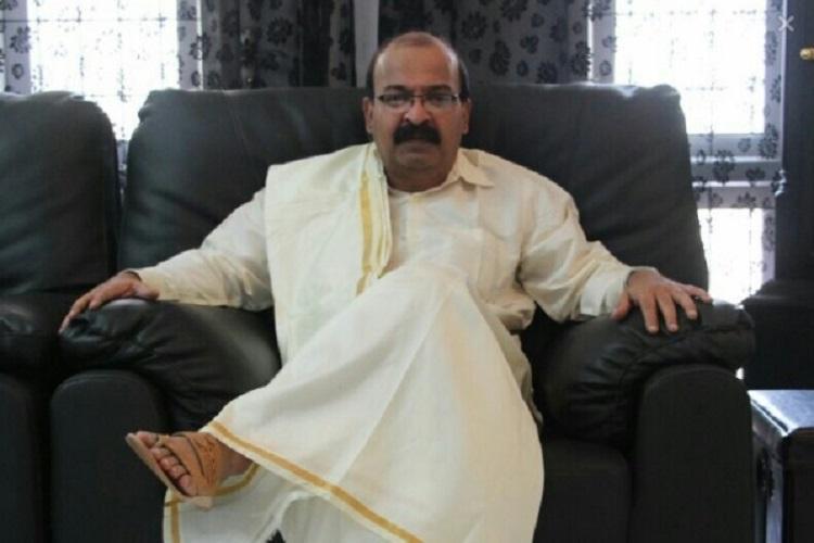 Hotelier Ravindranath Shetty, whose family created ghee roast recipe