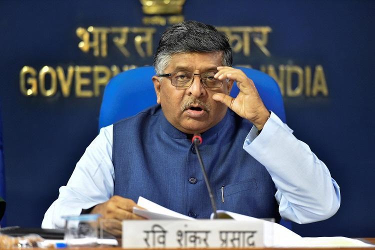 Aadhaar biometric data cannot be hacked Union Minister Ravi Shankar Prasad