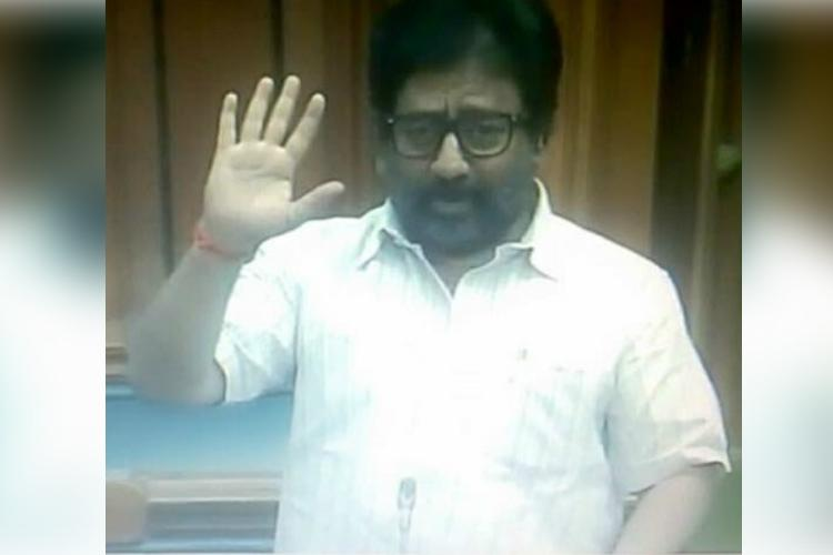 Forced to travel economy class Shiv Sena MP assaults Air India staffer