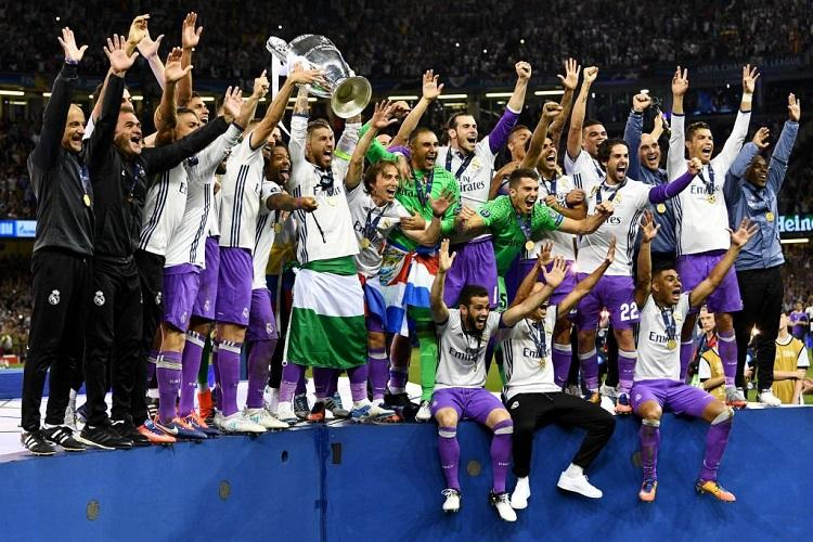 Christiano Ronaldo double secures Real back-to-back Champions League titles
