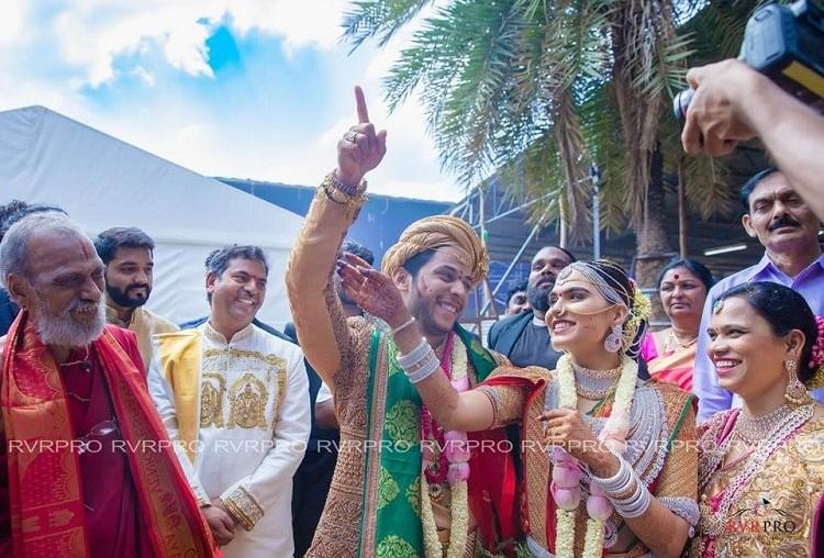 In photos The extravaganza that was Brahmani Reddys wedding