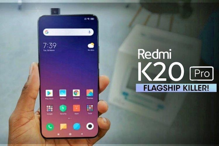 Redmis first flagship smartphone to be called Redmi K20