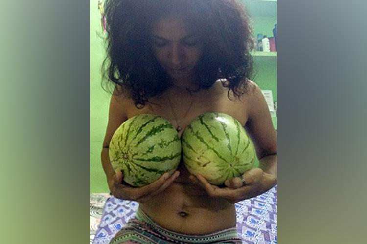Why are women in Kerala carrying watermelons?