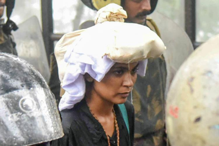 Muslim cleric lashes out at Rehana Fathima for hurting Sabarimala devotees
