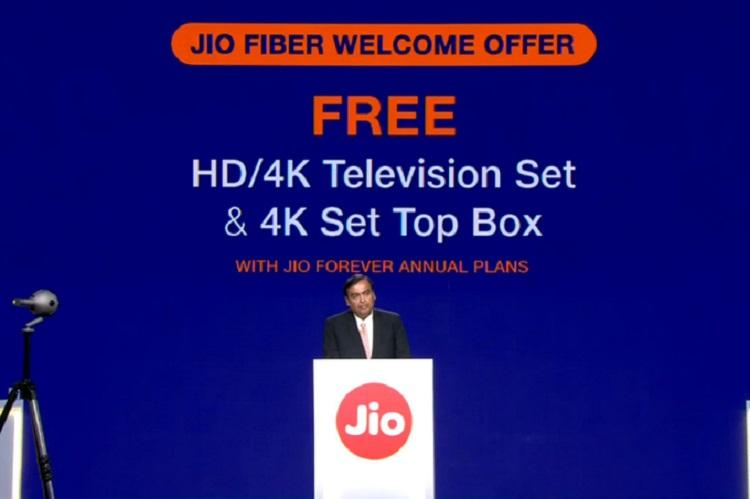 Reliance announces JioFiber broadband Offers up to 1 Gbps speed launch on Sept 5