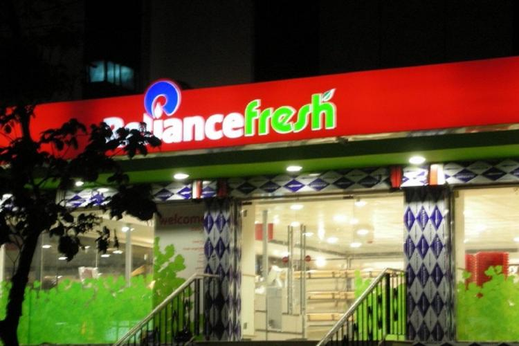 Reliance Fresh store in Kalyan area of Mumbai