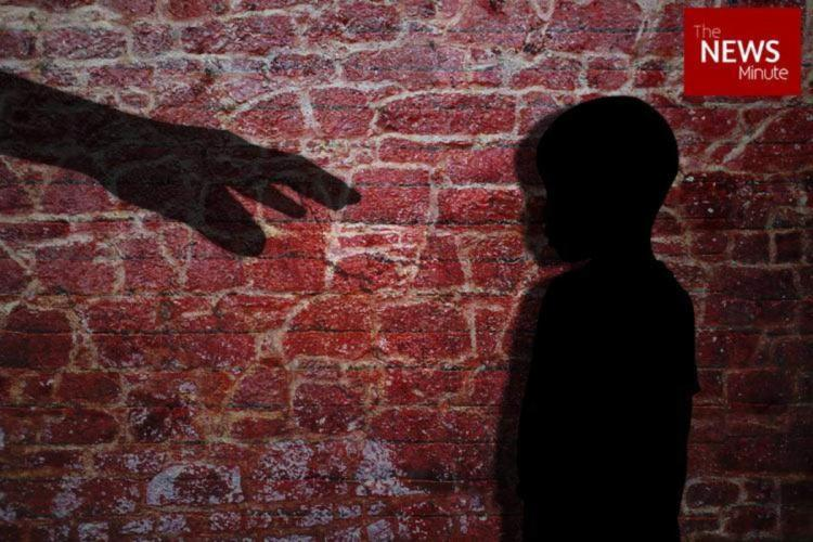 A representational image showing child abuse