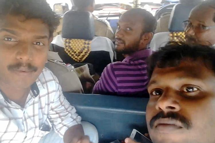 TN cops detain journos covering Salem Expressway protests release them after outrage