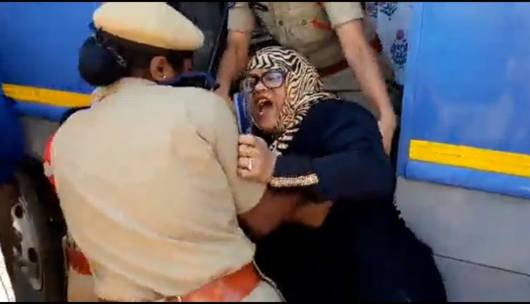 25 people detained in Hyderabad for protesting against SC judgment on reservations