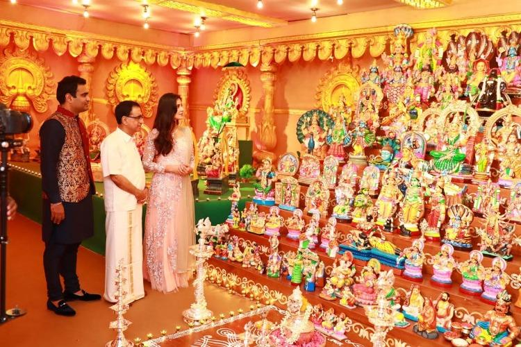 Images From Katrina to Nivin Pauly stars descend on Thrissur for Navratri party